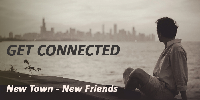 How to meet new friends when you move to a new town